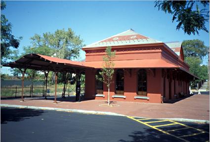 Jgwa Architects The Hudson Railroad Station