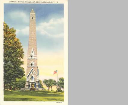 Jgwa Architects The Saratoga Monument